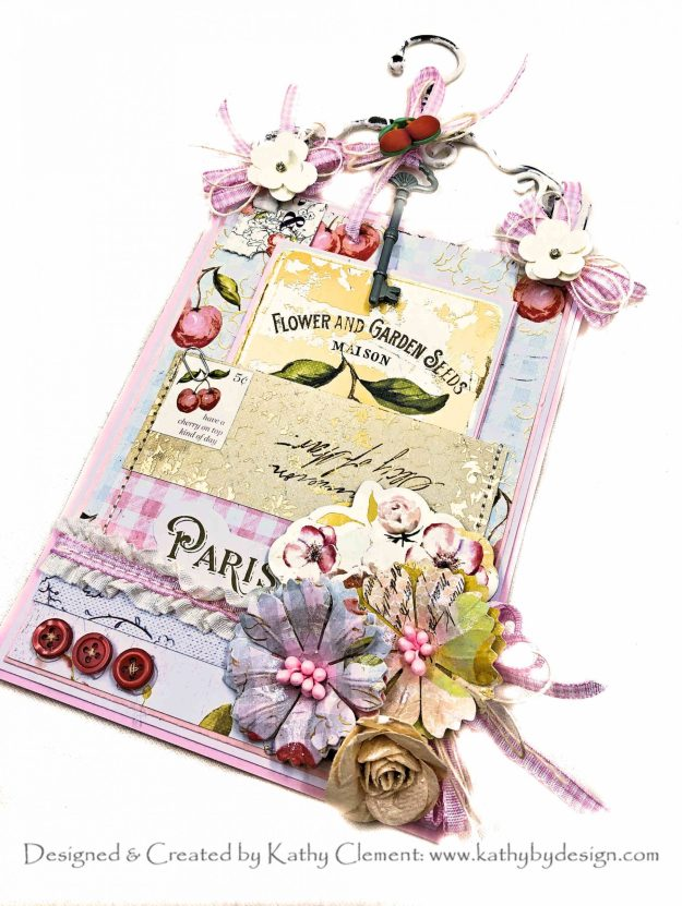 Prima Fruit Paradise Hanger Card by Kathy Clement Kathy  by Design Photo 01