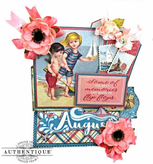 Authentique August Desk Calendar Tutorial by Kathy Clement Kathy by Design Photo 01