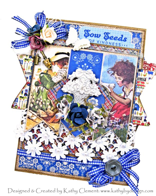 Authentique Cultivate Farewell to the Summer Garden Folio by Kathy Clement Kathy by Design Photo 01