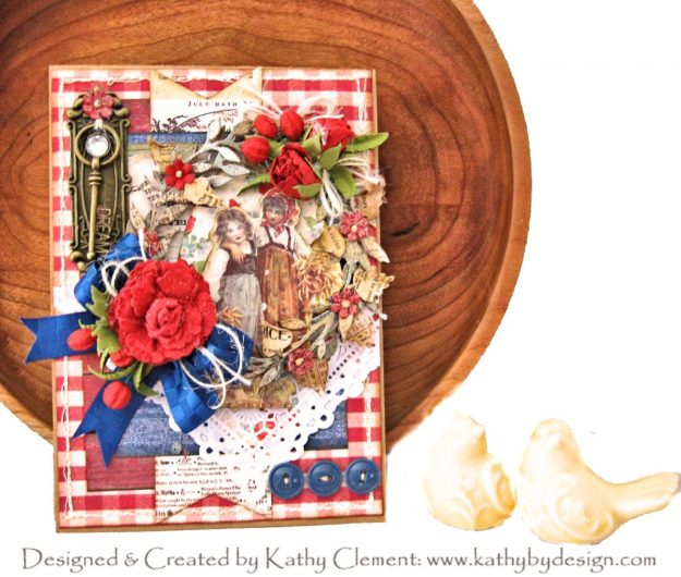 Authentique Frontier Card Tutorial for Throwback Thursday by Kathy Clement Kathy by Design Photo 01