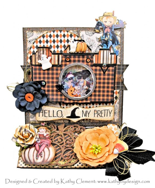 Authentique Masquerade Amazing Paper Grace Vintage Camera Vignette Die by Kathy Clement Kathy by Design Photo 01