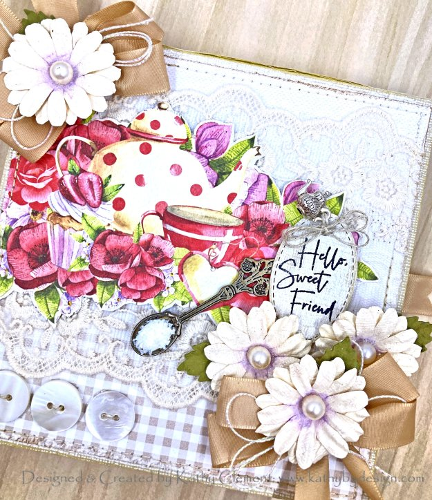 Lemon Craft Tea Party in a Box Tutorial Reneabouquets Kathy by Design Throwback Thursday Photo 01