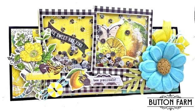 Lemon Twist Shaker Card by Kathy Clement Photo 01