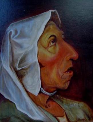 Peasant Woman @Breughel