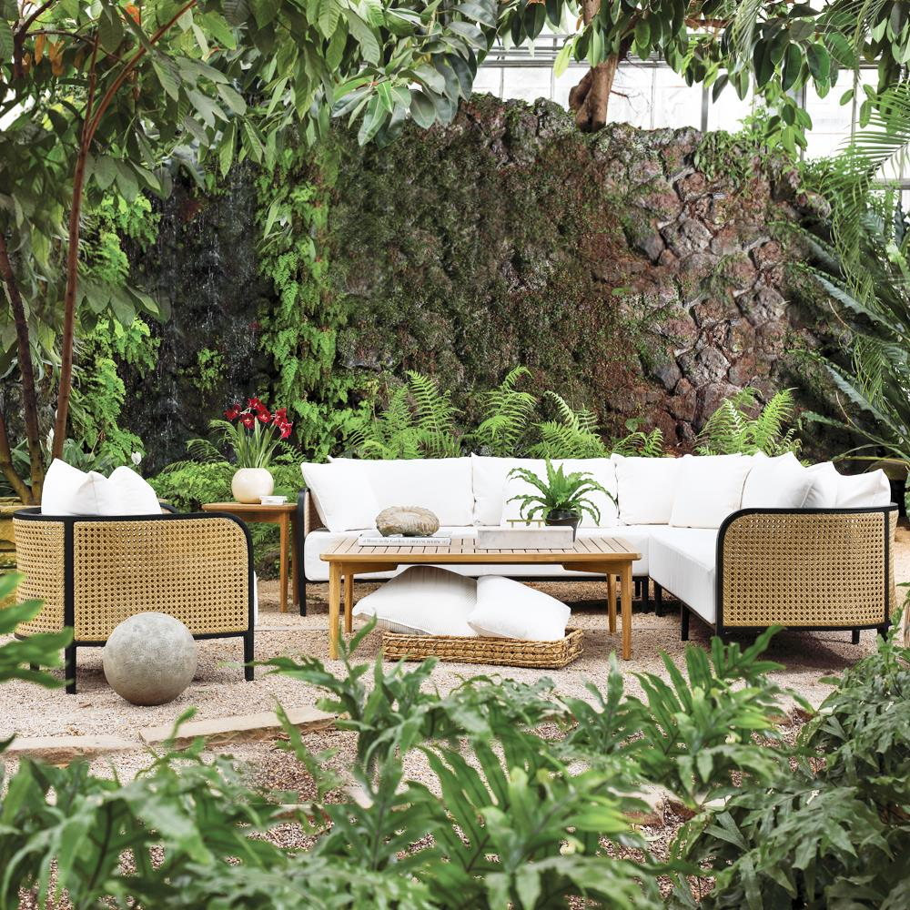 Summer Classics Havana Modern Beige Cushion Wicker Outdoor ... on Outdoor Living Wicker  id=21101