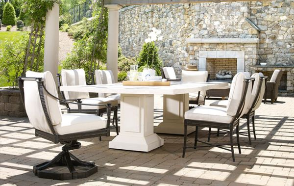 french country outdoor patio furniture Oly Studio | Kathy Kuo Home
