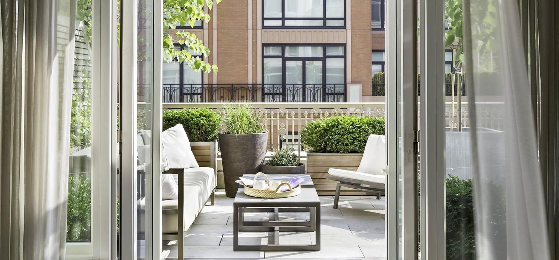 patio into the perfect outdoor escape