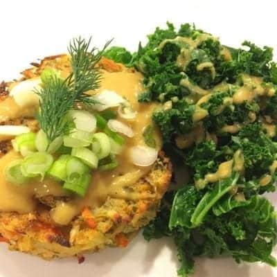 oil-free-baked-potato-vegetable-pancakes-with-steamed-kale-400x400-1 Oil-Free Baked Potato Vegetable Pancakes with Steamed Kale