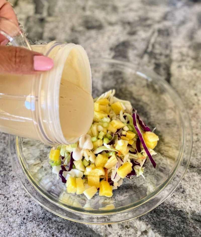pineapple coleslaw dressing