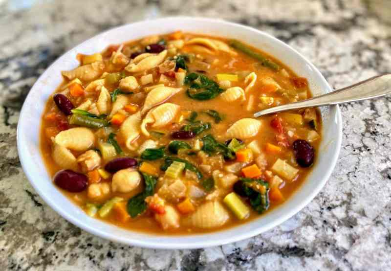 vegan minestrone soup recipe