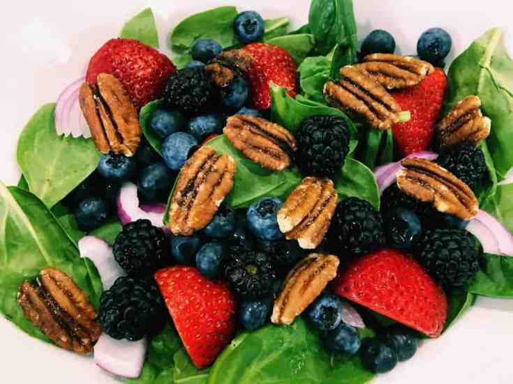 33961130764_f4c6bda791_o-2 Berry Blast Spinach Salad with Fat-free Viniargette Dijon Dressing: Eat to Live