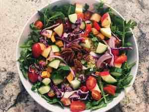 44220228294_42b1a5e01e_o-300x225 Harvest Quinoa Salad with Smokey Maple Dijon Dressing