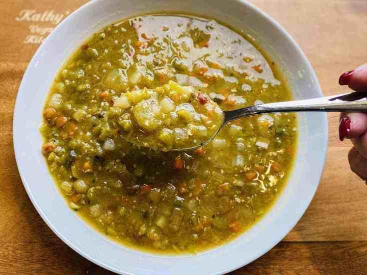 split-pea-soup-scaled Vegan Crockpot Split Pea Soup