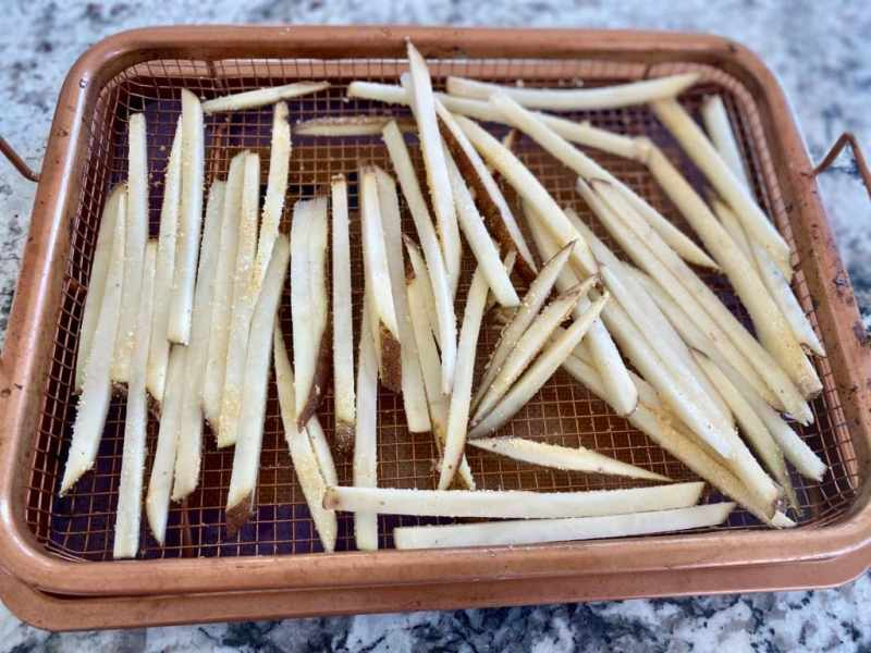 Copper Pan Baked Fries