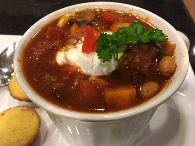 Crockpot Three-Bean Mega Veggie Chili