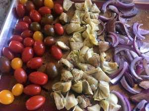 IMG_8790-300x225 Skinny Roasted Vegetable Pesto Pasta Salad