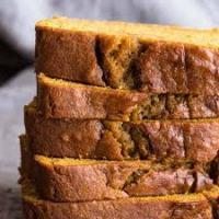 Skinny Oil-Free Pumpkin Spice Bread