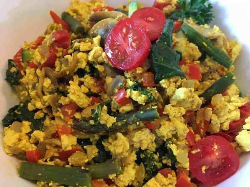 rustic-curry-tofu-scramble-1024x768-2-1024x768 Skinny Veggie Tofu Scramble