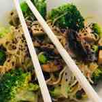 IMG_9275 Skinny Veggie Miso Ramen Stir Fry