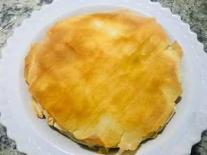 IMG_9317-300x225 Skinny Vegan Greek Spinach Pie