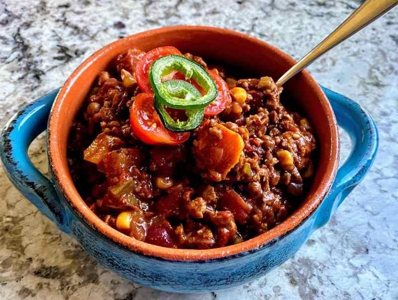butternut squasah chili recipe
