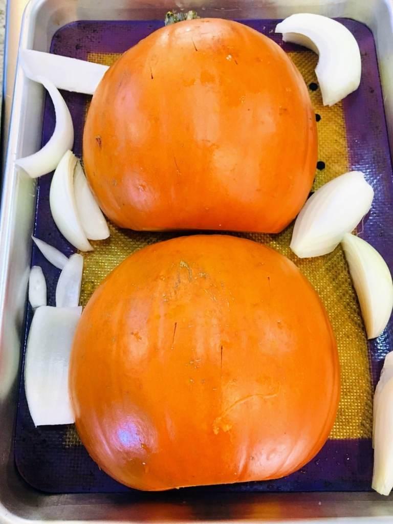 pumpkin rigatoni roasted pumpkins and onions