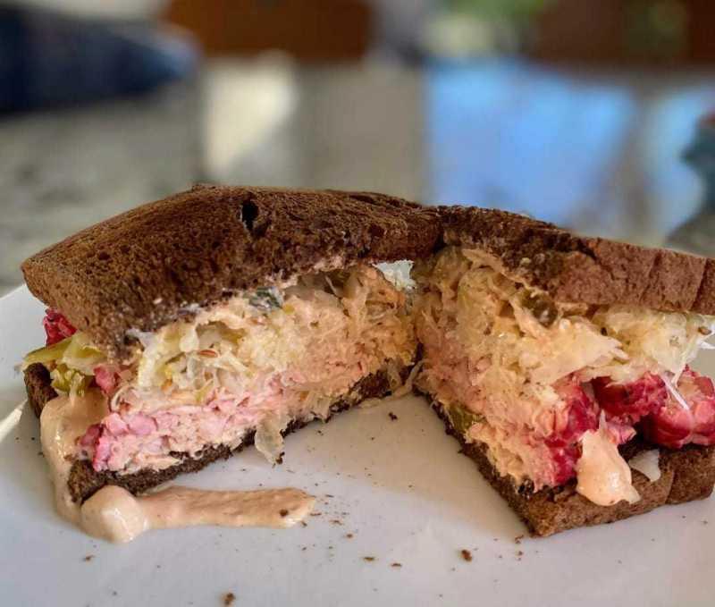 Vegan Tempeh Reuben Recipe