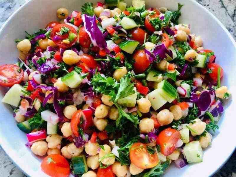 IMG_9573-2-1024x768 Skinny Vegan Rainbow Salad