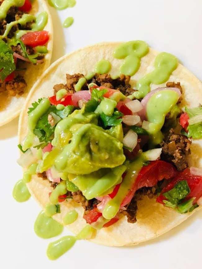 """IMG_9730-225x300 Mushroom """"Chorizo"""" Tacos"""