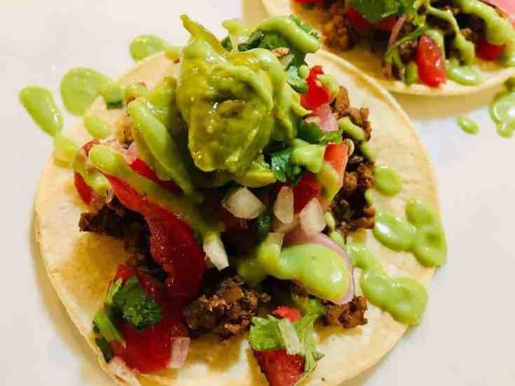 """IMG_9731 Mushroom """"Chorizo"""" Tacos"""