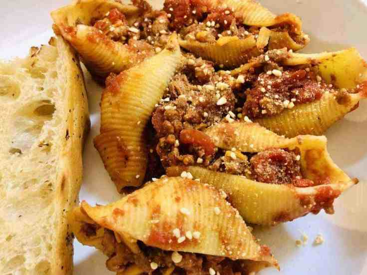 The Best Vegan Stuffed Shells