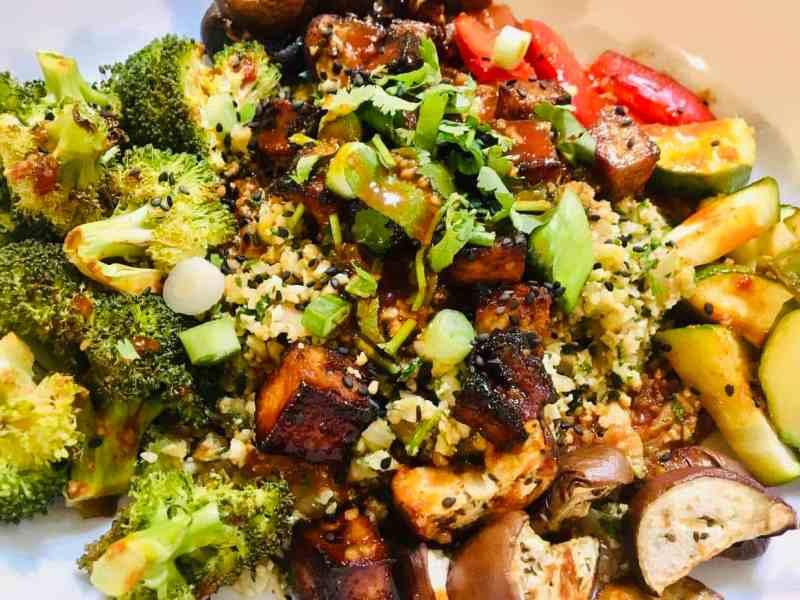 Vegan-Tofu-Korean-Bowl-1024x768 Bibimbap Vegan
