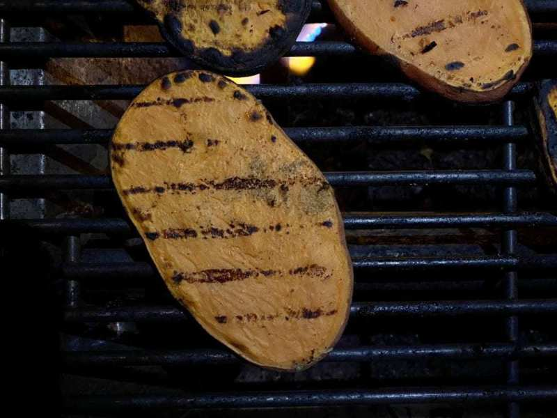 grilling sweet potatoes