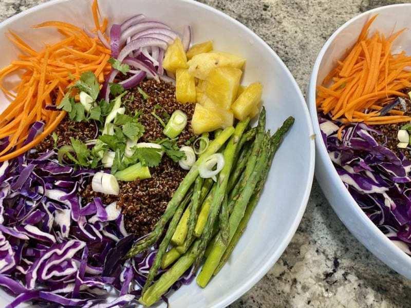 Vegan Quinoa Salad Recipe