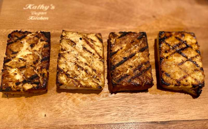 grilled lemongrass tofu