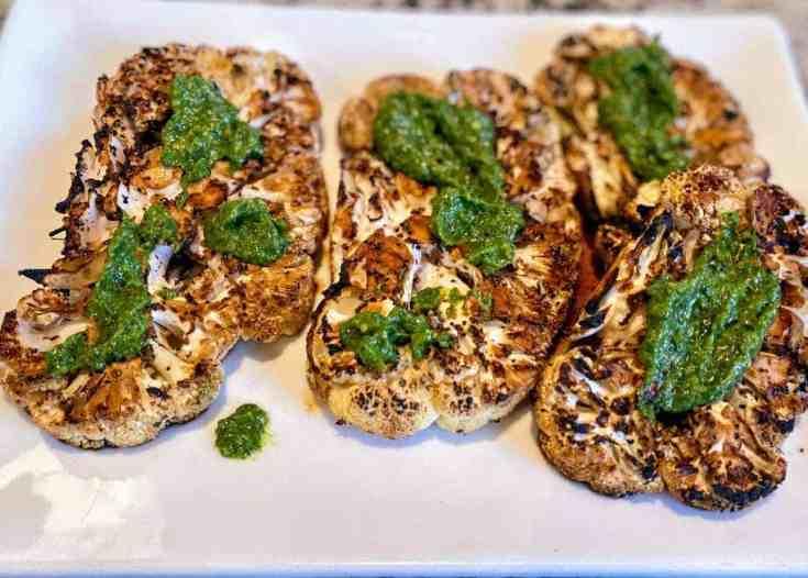 Cauliflower Steaks Vegan