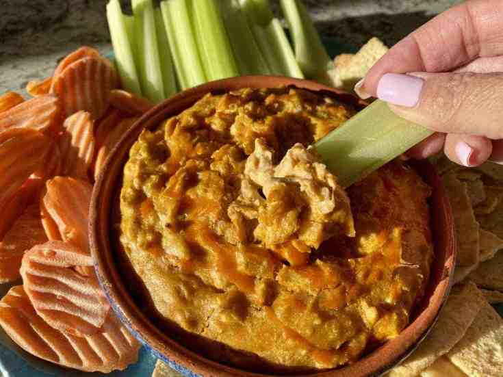 Vegan Buffalo Chicken Dip Recipe