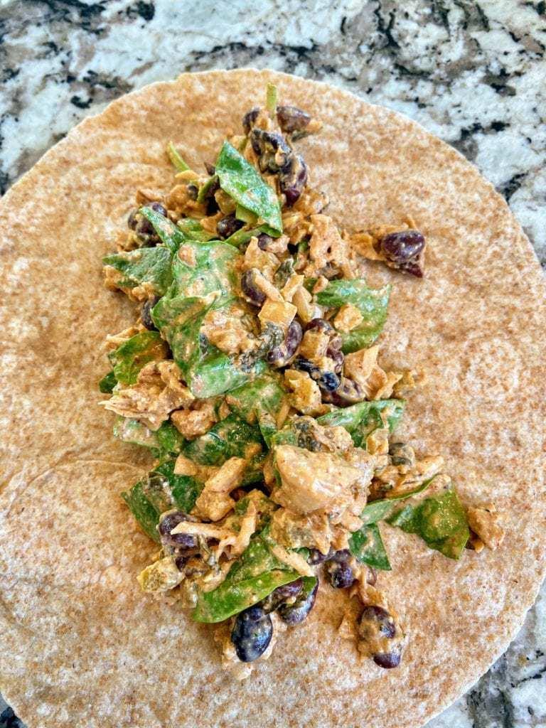 build vegan enchiladas