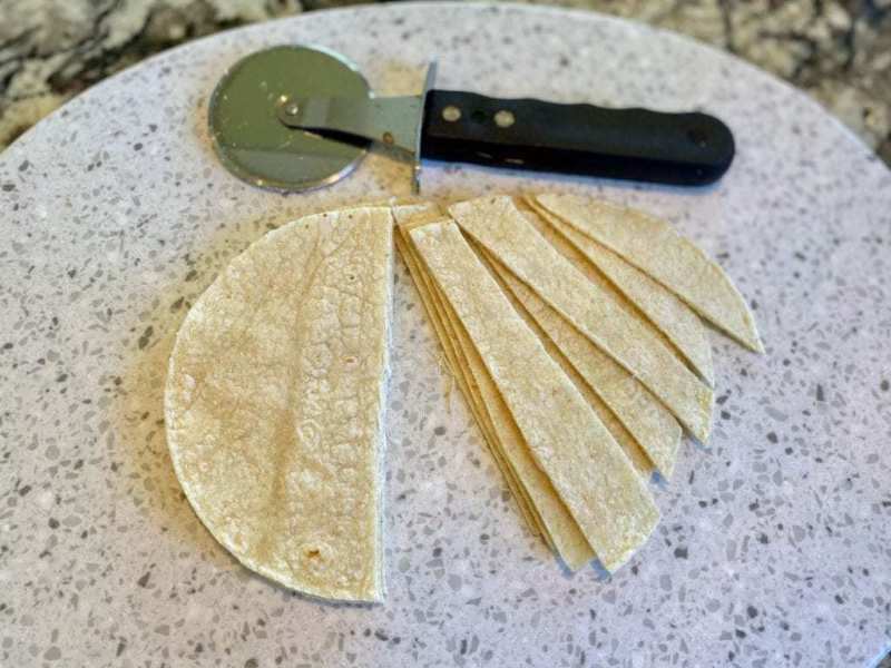 corn tortillas homemade tortilla strips