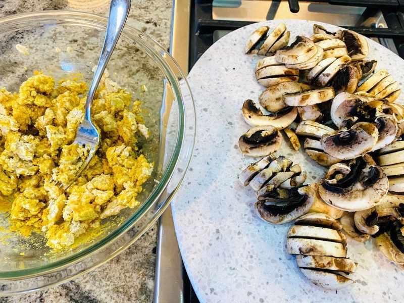 tofu-scramble-and-muchroomsjpg-1024x768 Vegan Breakfast Burrito