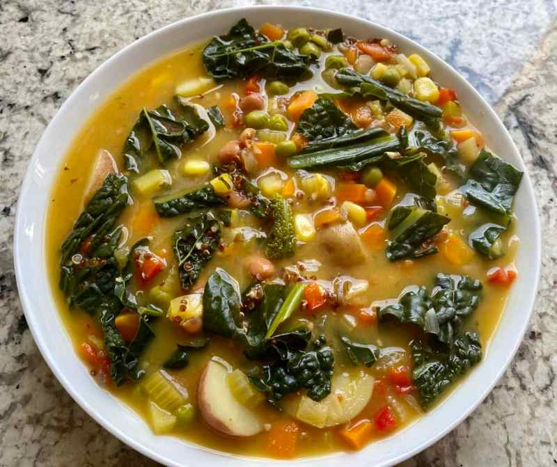 Quinoa Vegetable Soup Recipe