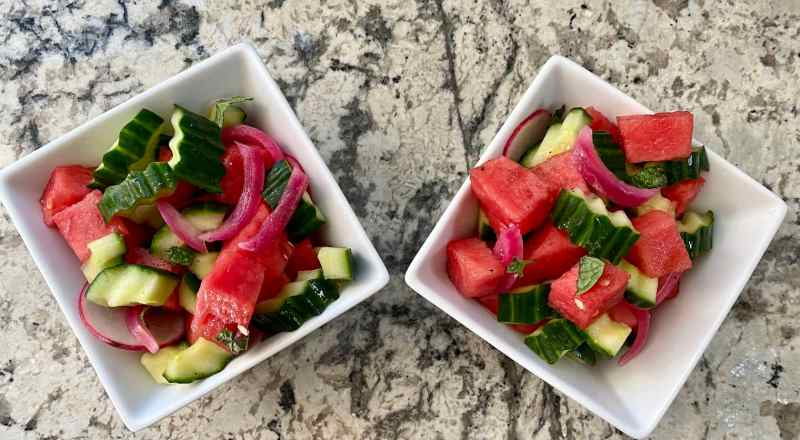 watermelon salad side dish