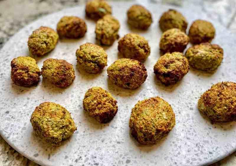 Air fried falafel recipe