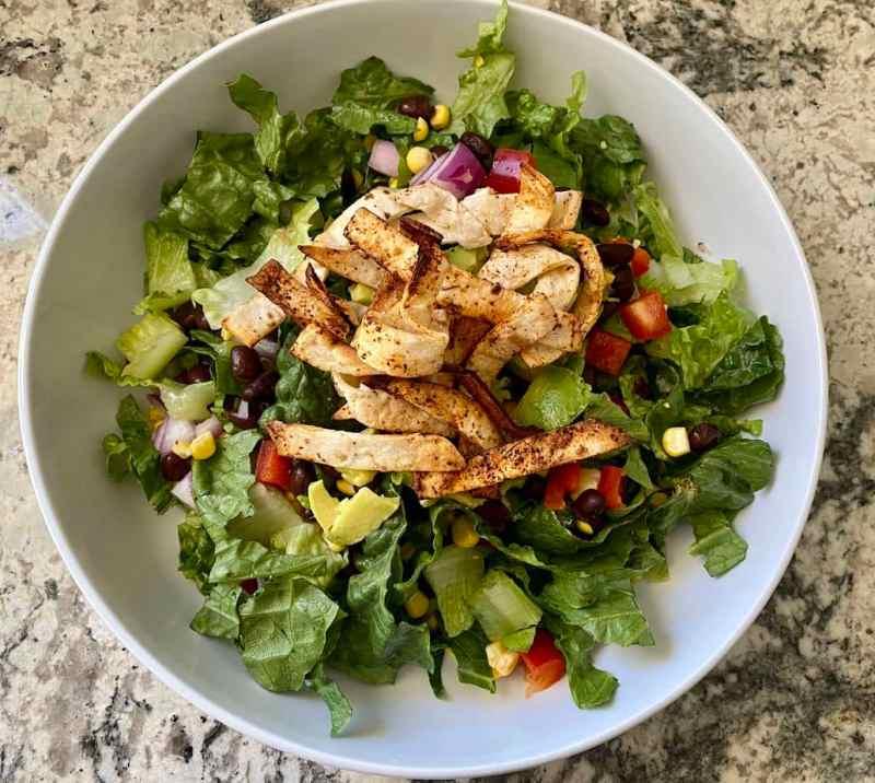 Chopped Southwest Salad Recipe