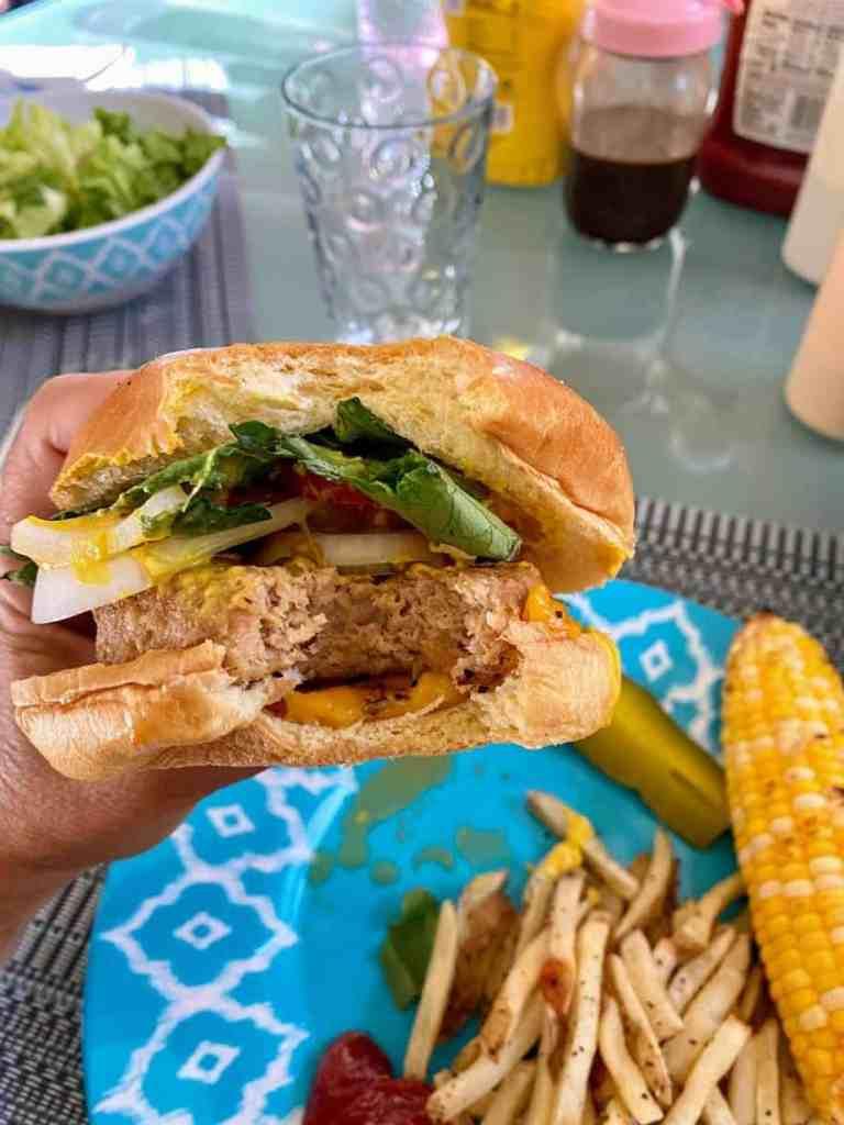Trader Joe's Turkeyless Burger