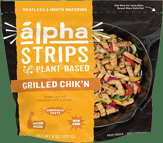 Alpha Strips Grilled Chik'n