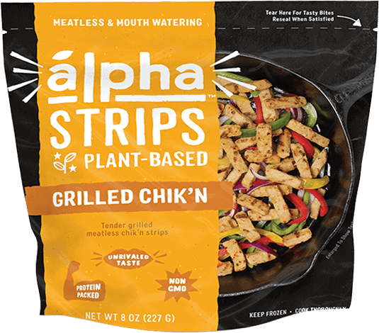 Alpha Strips Grilled Chik'n