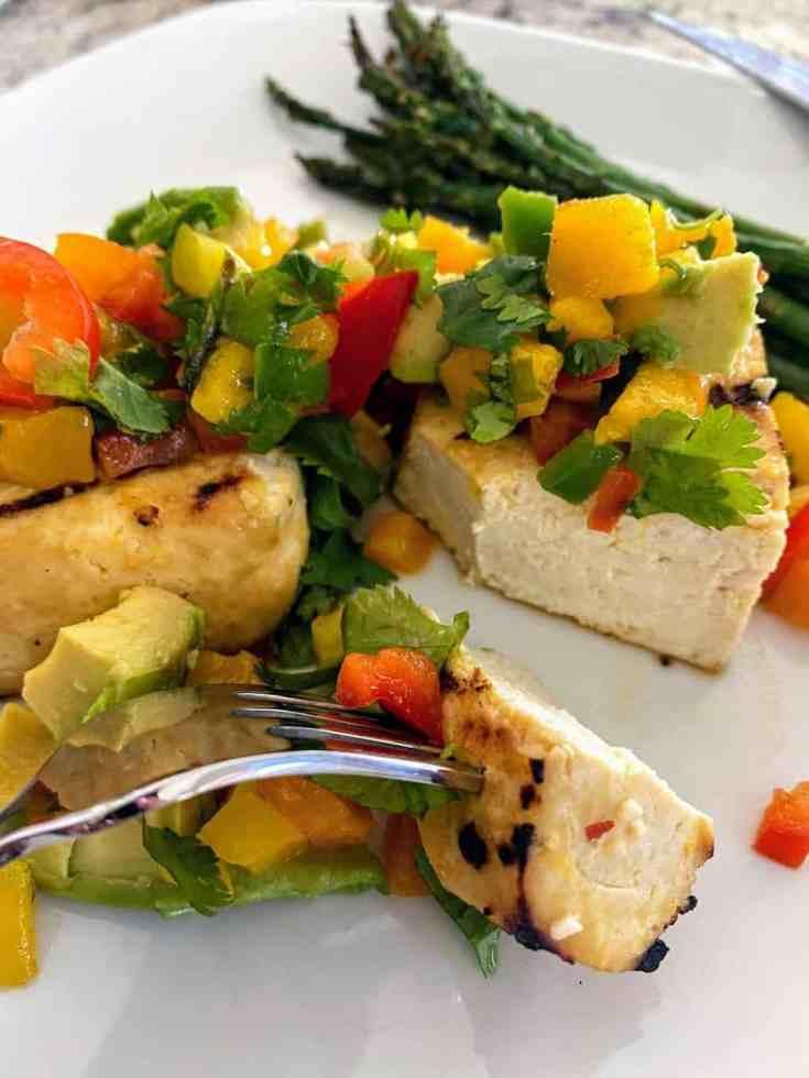 Grilled tofu recipe