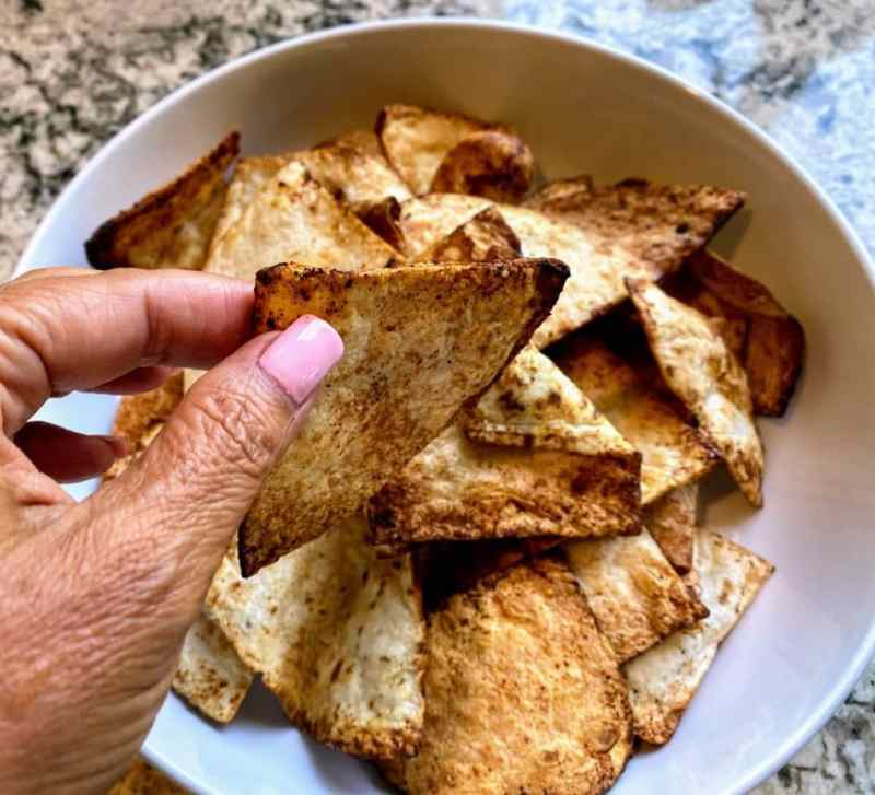 Cinnamon Tortilla Chips Recipe