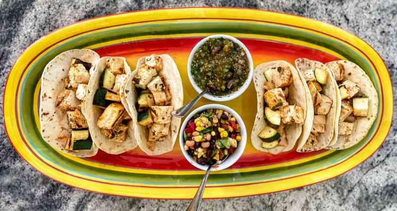 Tofu tacos recipe